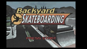 Backyard Skateboarding