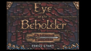 Dungeons and Dragons Eye of the Beholder