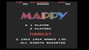 Famicom Mini Vol 08 Mappy