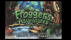 Froggers Adventures Temple of the Frog