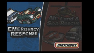 2 Games in 1 Matchbox Emergency Response Matchbox Air Land and Sea Rescue
