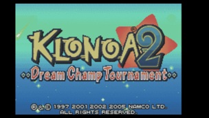 Klonoa 2 Dream Champ Tournament