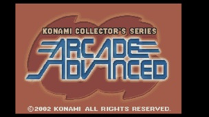 Konami Collectors Series Arcade Advanced