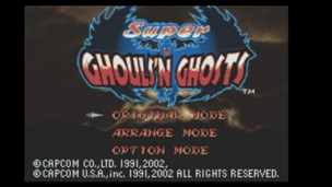 Super Ghoulsn Ghosts