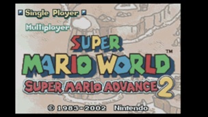 Super Mario Advance 2 Super Mario World