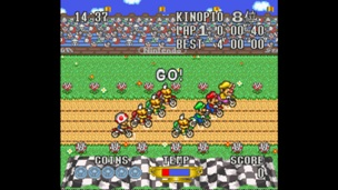 Excitebike Bun Bun Mario Battle Stadium 1