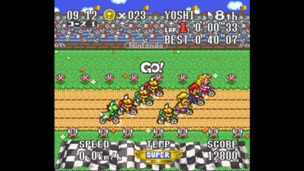 Excitebike Bun Bun Mario Battle Stadium 4