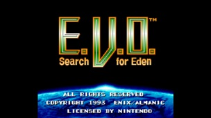 E V O Search for Eden