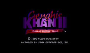 Genghis Khan 2 Clan of the Gray Wolf