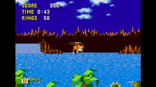 Tails in Sonic 1