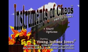 Young Indiana Jones Instrument of Chaos